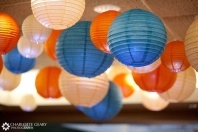 Paper lanterns make great wedding decorations