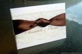 Wedding invitation, by StunningStationery on etsy.com