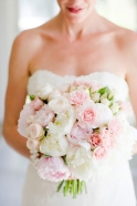 Beautiful peony bouquet {via bellethemagazine.com}