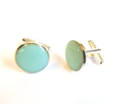 Men's cufflinks, by agatechristina on etsy.com