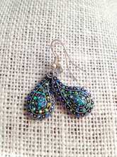 Earrings, by SugarLoafMountain on etsy.com