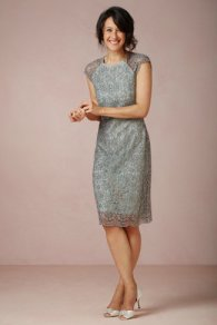 Greyed jade dress, from bhldn.com
