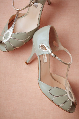Mimosa T-Strap heels, from bhldn.com