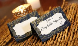 Placecards, by VictoriaJensenPaper on etsy.com