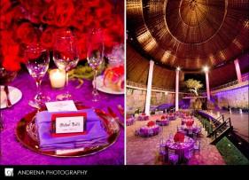 Red and purple wedding {via kurvykouture.blogspot.com}