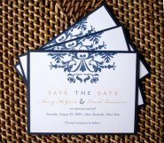 Save the date, by alamodebride on etsy.com