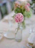 Simple but beautiful peony centrepiece {via elizabethannedesigns.com}
