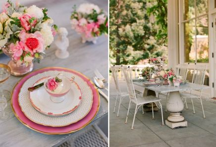 Table setting inspiration {via annesage.com}