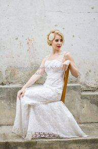 Wedding dress, by SheenaEspirituSolis on etsy.com