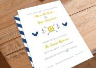 Wedding invitation, by 26Sorts on etsy.com