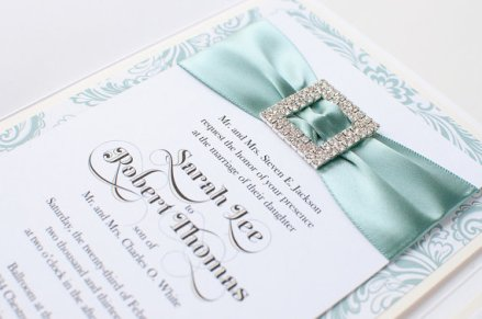 Wedding invitation, by PennyAnnDesigns on etsy.com