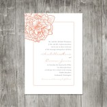 Wedding invitation, by pinklilypress on etsy.comv