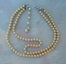 1950s wedding necklace, by VintageJewelryStore on etsy.com