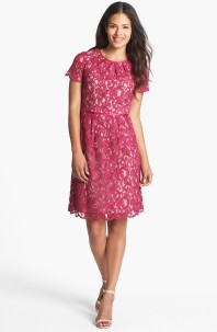Adrianna Papell Scalloped Lace Dress, from nordstrom.com