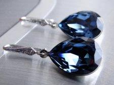 Bridal earrings, by MyTinyStarShining on etsy.com