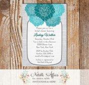 Bridal shower invitation, by NotableAffairs on etsy.com