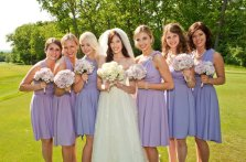 Bridesmaid dresses, by TheRadicalThreadCo on etsy.com