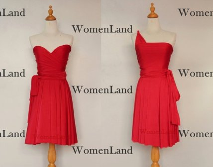 Bridesmaid infinity dress, by WomenLand on etsy.com