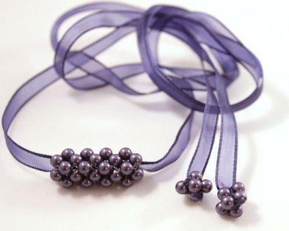Bridesmaids necklace or wraparound bracelet, by CrystalHandmade on etsy.com