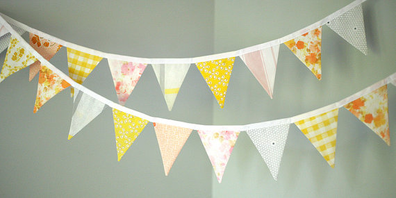 Bunting, by tinamagee on etsy.com