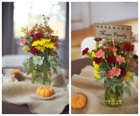 Centrepiece idea {via rusticweddingchic.com}