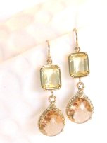 Earrings, by LoveShineBridal on etsy.com
