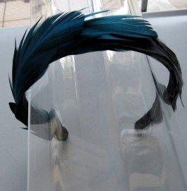 Feather headband, by HettieSilovitz on etsy.com