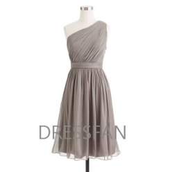 Grey bridesmaid dress, by Dressfan on etsy.com
