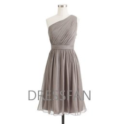 Grey bridesmaid dress, by Dressfan on etsy.com