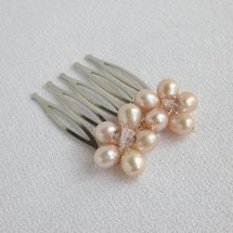 Hair comb, by ForeverCherishDesign on etsy.com