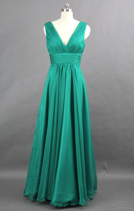 Jade bridesmaid dress, by harsuccthing on etsy.com | The ...