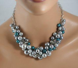 Necklace, by bazinedezine on etsy.com
