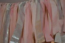 'Rag' garland, by PenelopeandLala on etsy.com