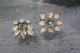 Vintage earrings, by ButterflyEffectInc on etsy.com