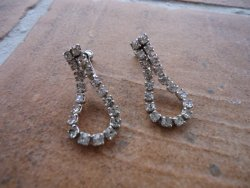 Vintage earrings, by romanticcountry on etsy.com