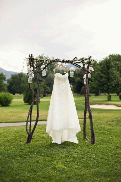 Wedding arch, by MollieLe on etsy.com