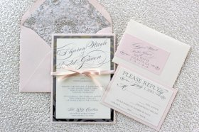 Wedding invitation, by AlexandriaLindo on etsy.com