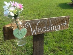 Wooden sign, by PineNsign on etsy.com