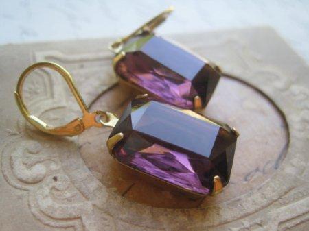 Earrings, by SacredCake on etsy.com