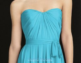 Full-length bridesmaid dress, by CupidHouse on etsy.com