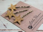 Hair pins, by LittleBloomsHandmade on etsy.com