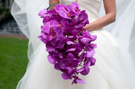 Orchid bouquet inspiration {via firstcomeflowers.typepad.com}