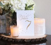 Table numbers, by WinterlandCalifornia on etsy.com