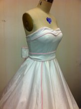 Wedding dress (US$475), by MissBrache on etsy.com