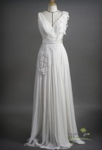 Wedding dress (US$270), by pandaandshamrock on etsy.com
