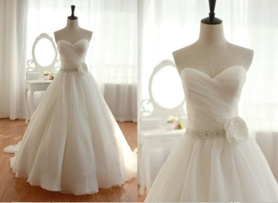 Wedding dress (US$279), by MiLanFashion on etsy.com