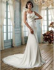 Wedding dress (US$461), by AllVintageBridal on etsy.com