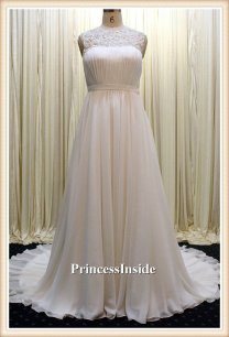 Wedding gown (US$408), by PrincessInside on etsy.com
