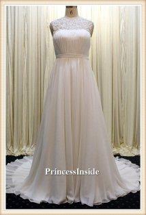 Wedding gown (US$408), by PrincessInside on etsy.com