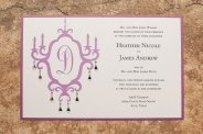 Wedding invitation, by PennyAnnDesigns on etsy.com